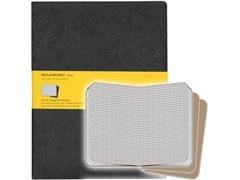Moleskine Cahier Black Squared Notebook XL