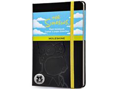 Moleskine Limited The Simpsons Plain Notebook Pocket Black