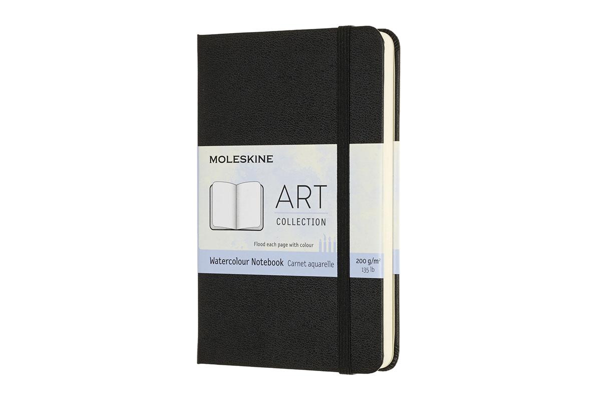 Moleskine Art Watercolour Notebook Hardcover Pocket Black