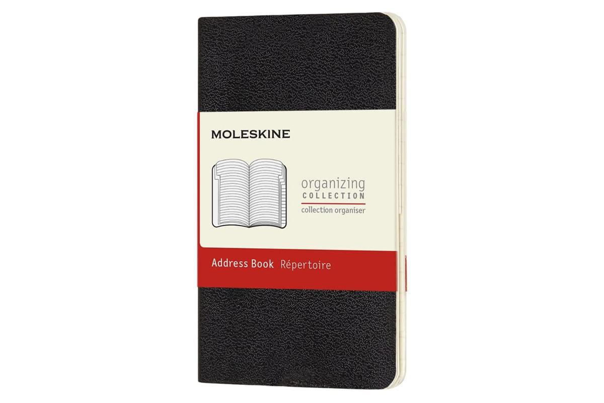 Moleskine Volant Address Book Extra Small Ivory Black
