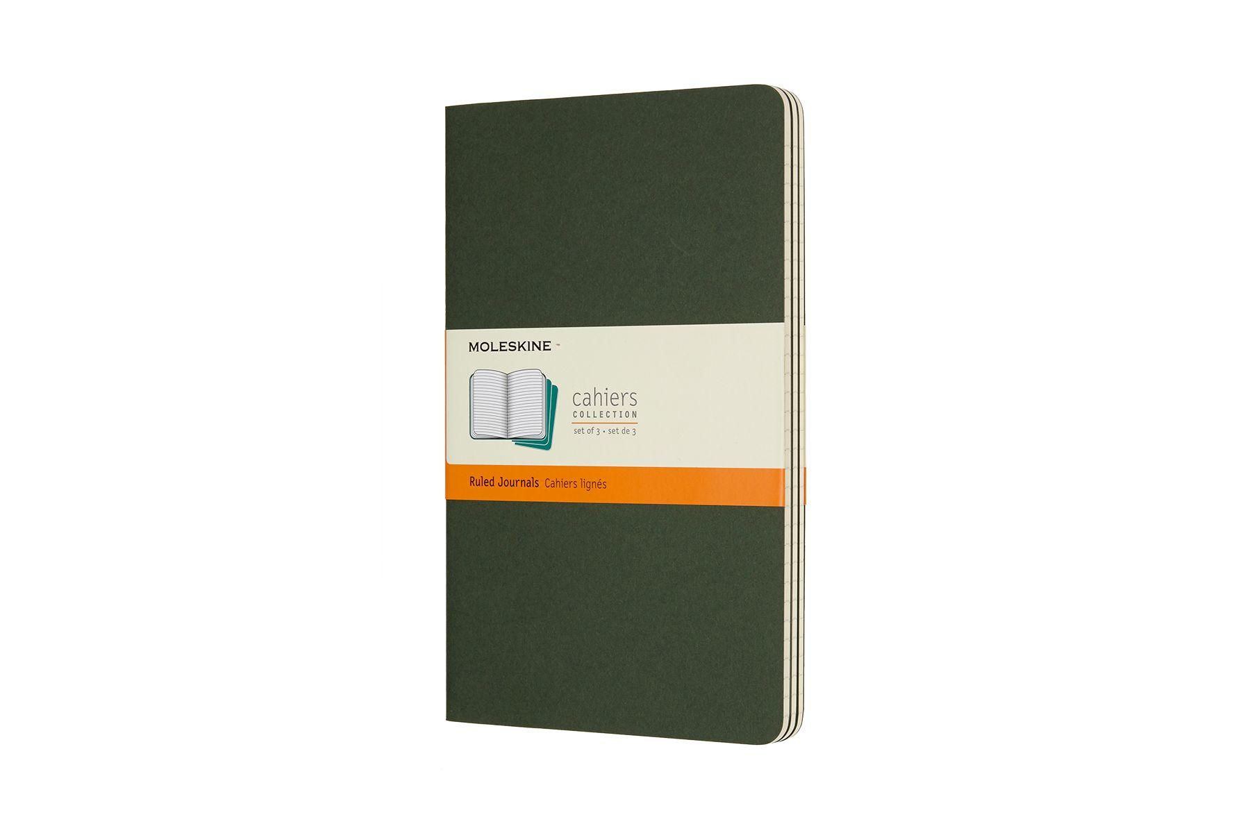 Moleskine Cahier Ruled Notebook Large Myrtle Green