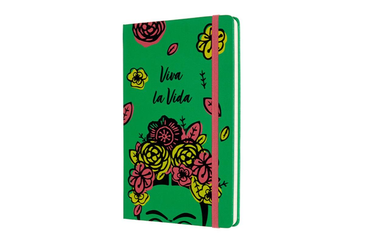 Moleskine Frida Kahlo Limited Edition Ruled Notebook Large Green