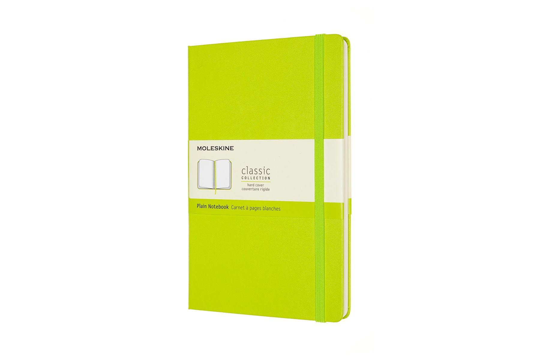 Blanco notitieboek Moleskine lime green