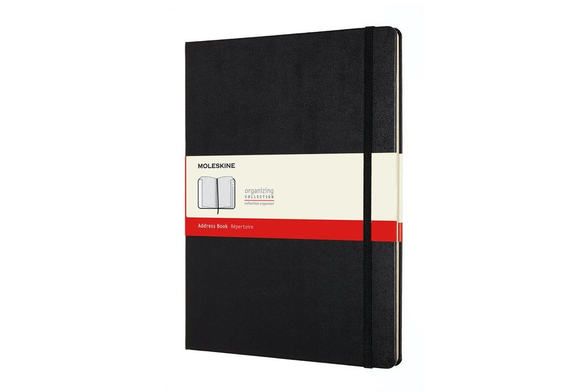 Moleskine Address Book XL Black