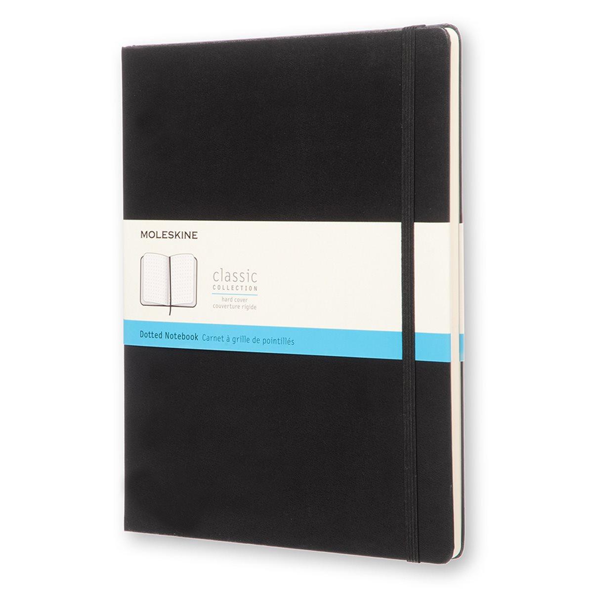 Moleskine Dotted Hardcover Notebook XL Black