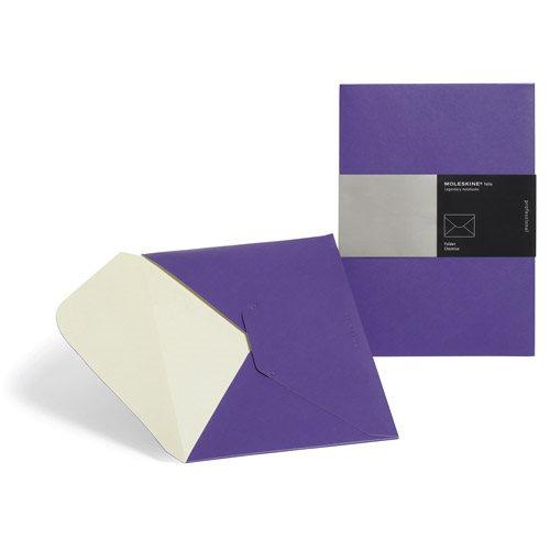 Moleskine Folio File Folder Purple