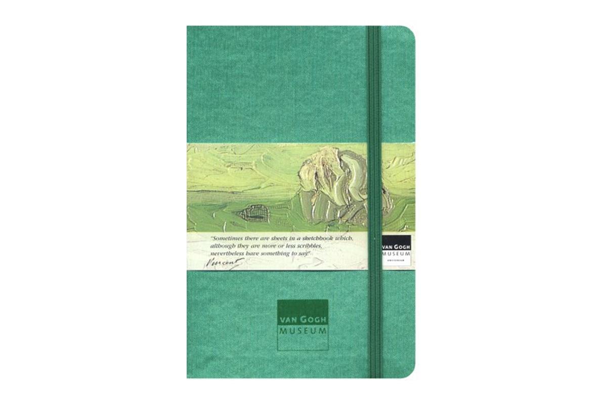 Moleskine Van Gogh Memo Pocket Green
