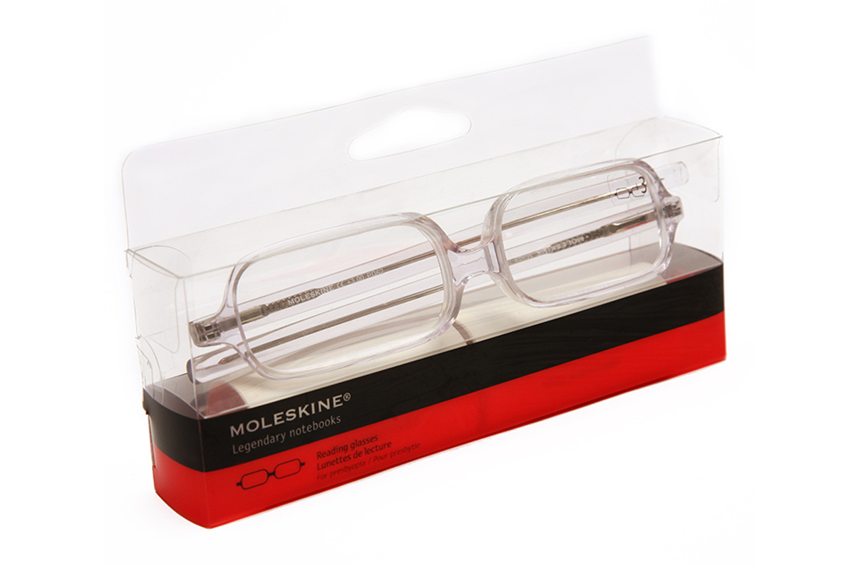 Moleskine Transparant Reading Glasses +2.5
